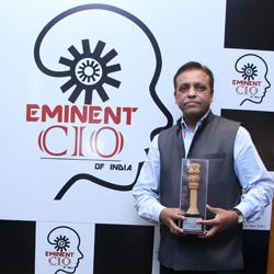 ANAND RUHELA- Eminent CIO's Of India 2019