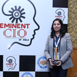 MEETALI SHARMA - Eminent CIO's Of India 2019
