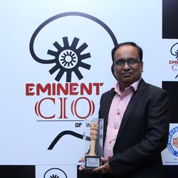 PRAKASH KUMAR - Eminent CIO's Of India 2019