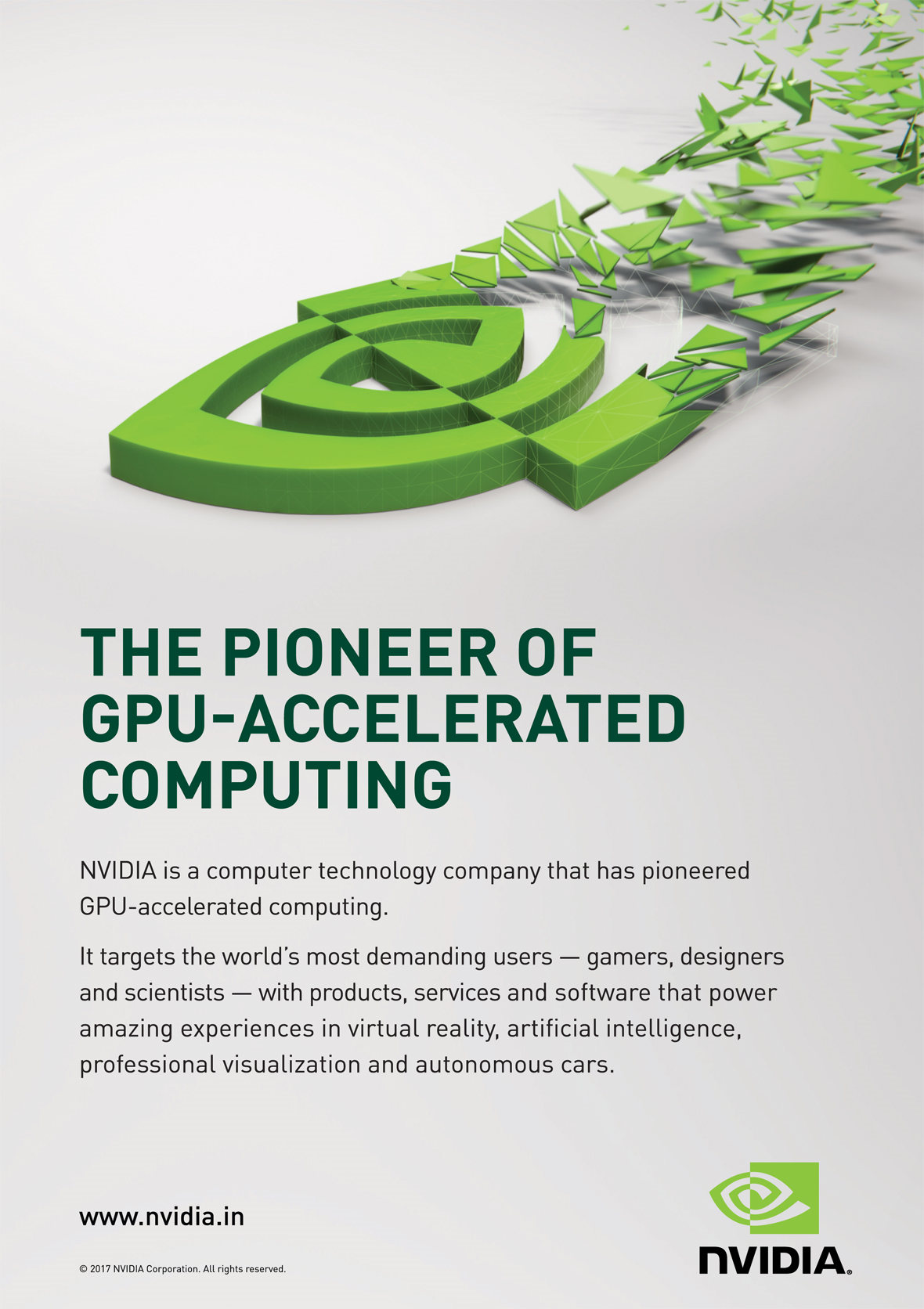 NVIDIA- Most Advertisement Brand by My Brand Book