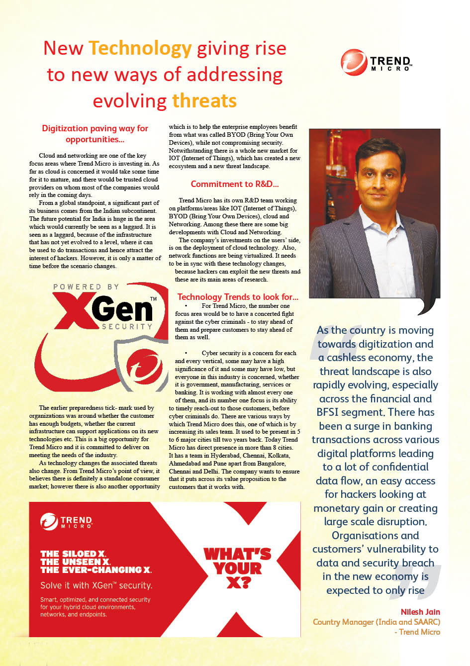 Trend Micro: New Technology giving rise to new ways of addressing evolving threats