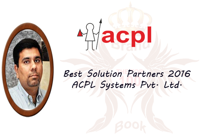 Best Solution Partners 2016 - ACPL Systems Pvt. Ltd.