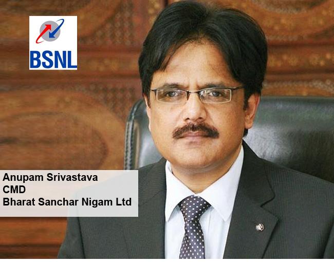 ICONS OF INDIA-Anupam Srivastava,Bharat Sanchar Nigam Ltd