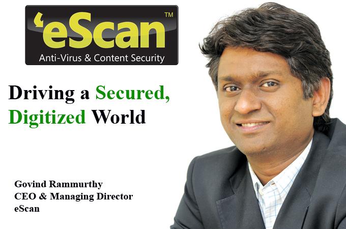 Top IT Brand- Govind Rammurthy CEO & Managing Director eScan