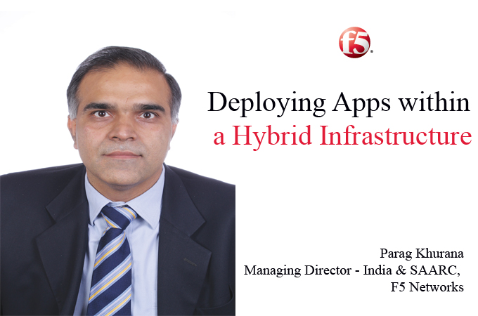 Top IT Brand - Parag Khurana Managing Director - India & SAARC, F5 Networks