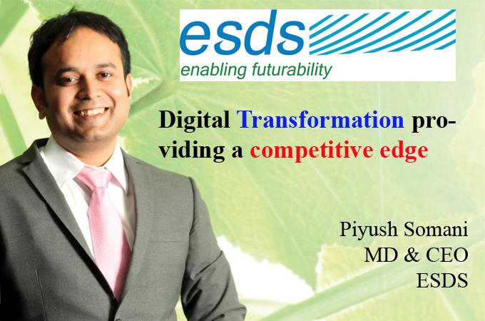 Top IT Brand - Piyush Somani MD & CEO ESDS
