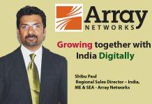 top it brand - Shibu Paul Regional Sales Director – India, ME & SEA - Array Networks