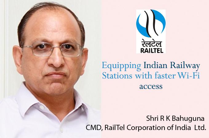 Top IT Brand 2016- Shri R K Bahuguna CMD, RailTel Corporation of India Ltd.
