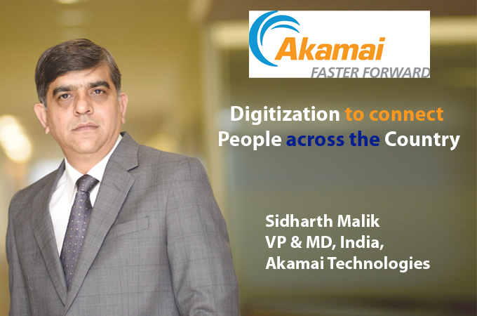 Top IT Brand Sidharth Malik VP & MD, India, Akamai Technologies