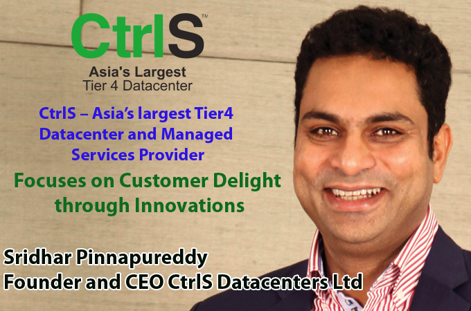 top IT Brand - Sridhar Pinnapureddy Founder and CEO CtrlS Datacenters Ltd