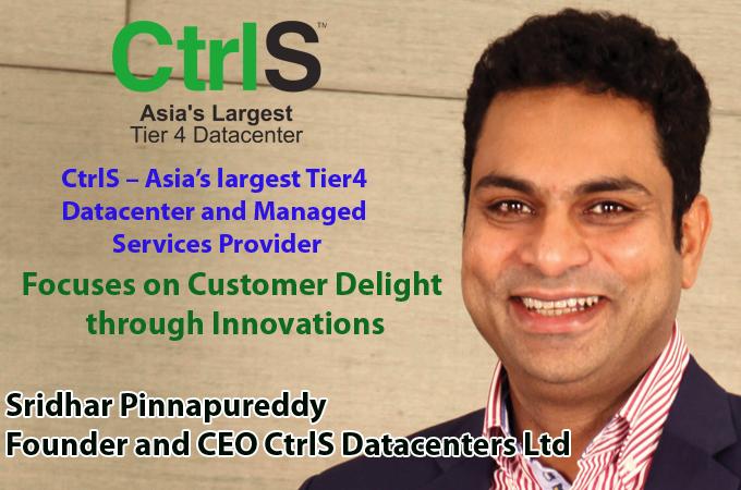 top IT Brand - Sridhar Pinnapureddy Founder and CEO CtrlS Datacenters Ltd