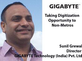 Top IT Brand- Sunil Grewal Director GIGABYTE Technology (India) Pvt. Ltd