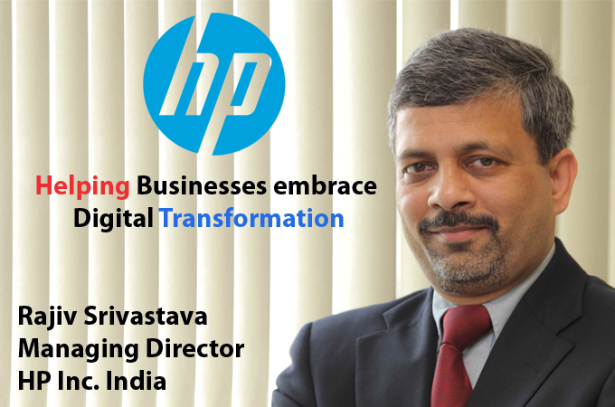 Top IT Brand-Rajiv Srivastava Managing Director HP Inc. India