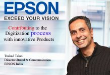 Top IT Brand- Tushad Talati Director-Brand & Communication EPSON India