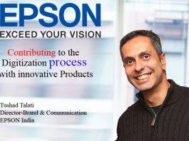 Top IT Brand- Tushad Talati Director-Brand & Communication EPSON India