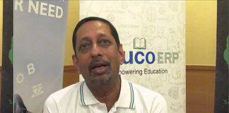 V. Balakrishnan, Executive General Manager of Konica Minolta Business Solutions India