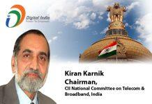 digital india - CII National Committee on Telecom & Broadband, India