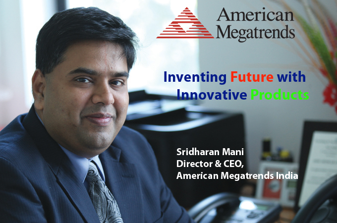 top it brand Sridharan Mani Director & CEO, American Megatrends India