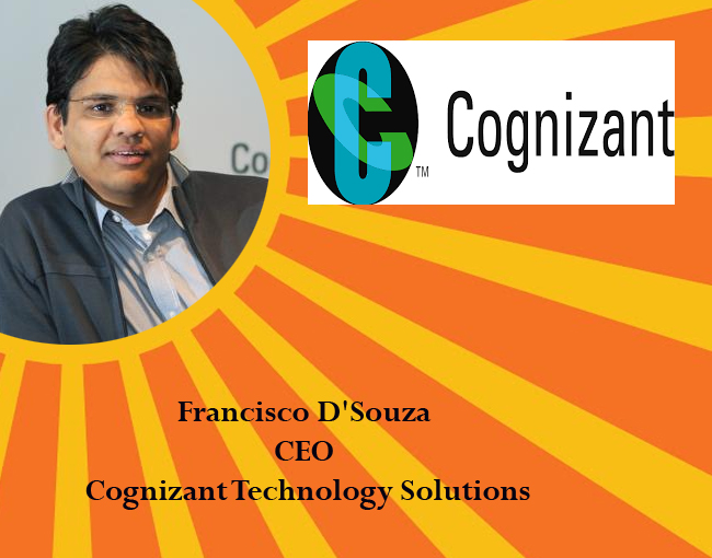 icon of india - Francisco D'Souza CEO Cognizant Technology Solutions