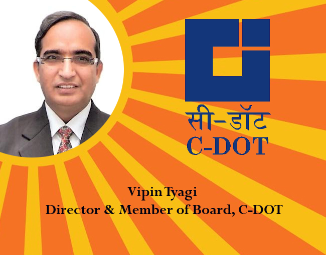 icon of india-Vipin Tyagi Director & Member of Board, C-DOT