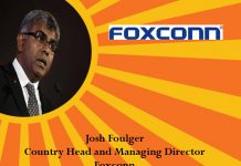icon of india-Josh Foulger, Managing Director Foxconn