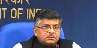 Ravi shankar Prasad Union Minister for Communications & Information Technology, GoI