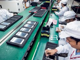 Mobile handset manufacturing units in India