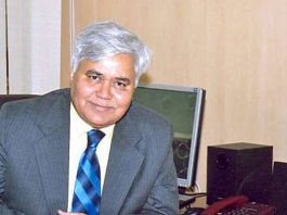 R S Sharma, Chairman, Telecom Regulatory Authority of India