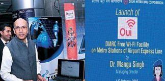 DMRC Launches Free Wi-Fi Facility at Airport Metro Line