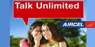 Aircel unlimited voice and data
